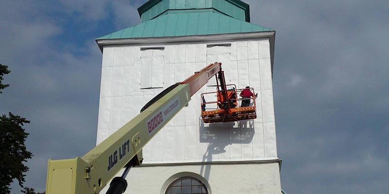 OMMÅLNING  Tegneby Kyrkan